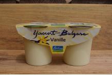 Yaourt Vache à la vanille