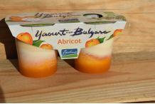Yaourt Vache à l'abricot